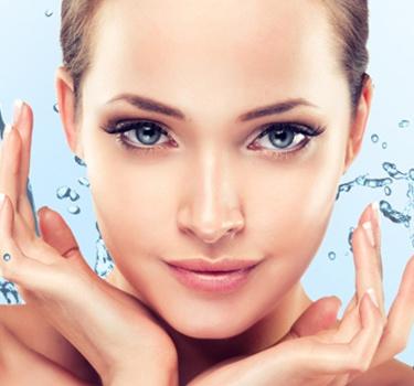 Умывание сухой кожи