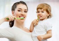 Уход за зубами у детей